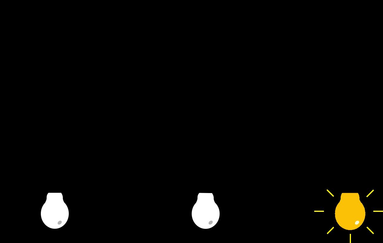 3 Light Bulbs